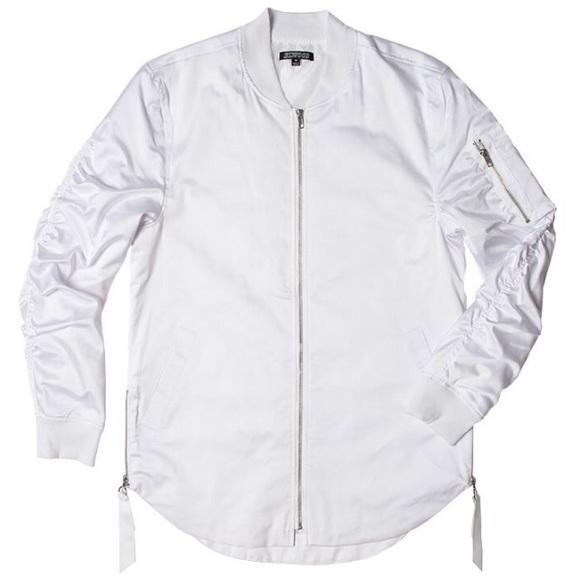 5e6a37e6a9a0 Elwood Jackets & Coats | Curved Bomber Jacket | Poshmark